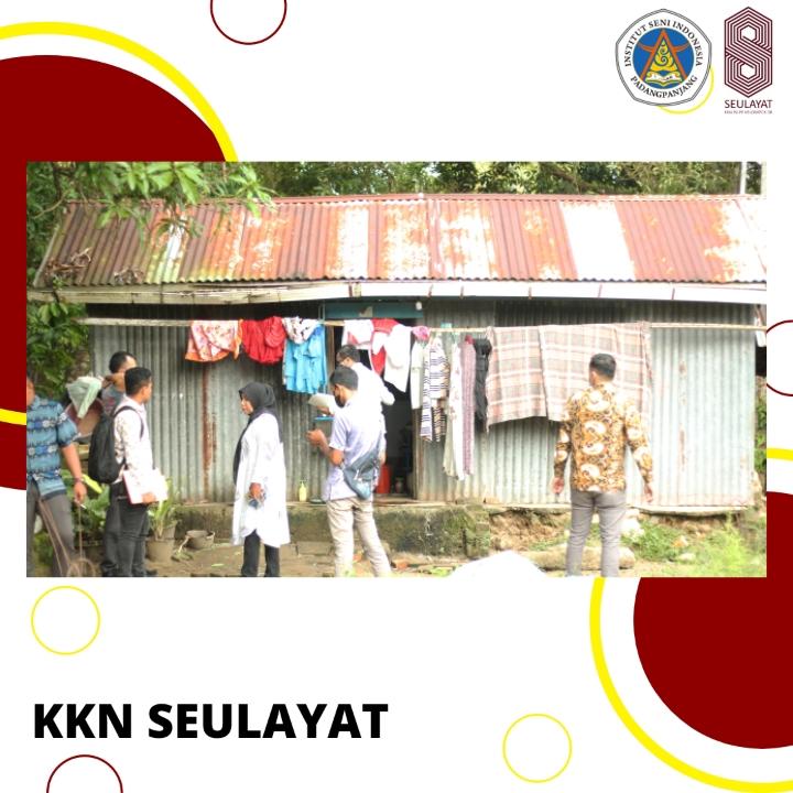 Kemensos Bidik Warga Seulayat Ulakan, Penerima Bantuan Bedah Rumah.